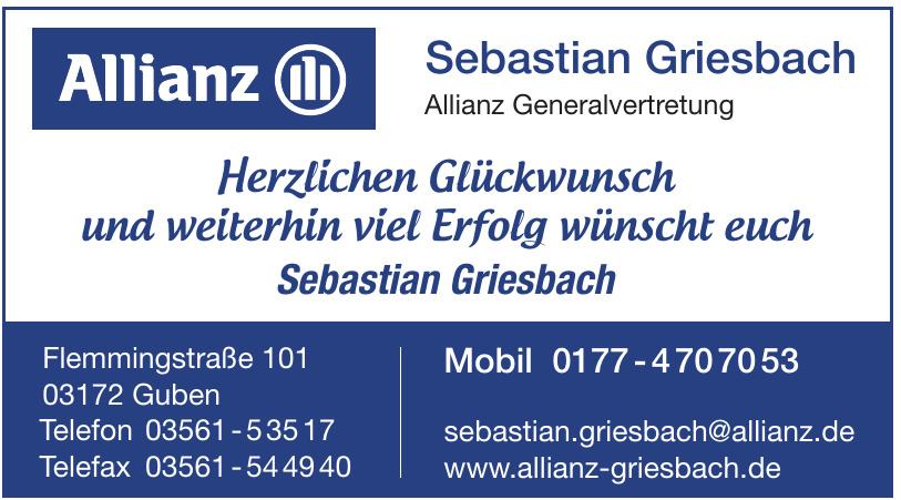 Sebastian Griesbach Allianz Generalvertretung