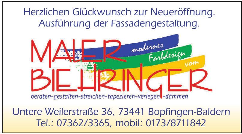 Maler Biehringer