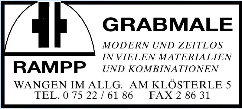 Rampp Grabmale