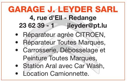 Garage J. Leyder Sarl