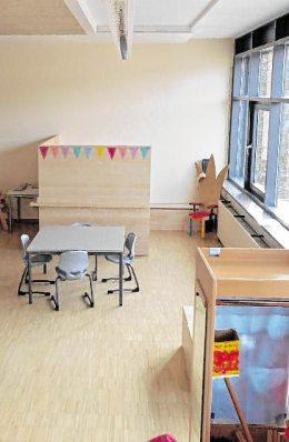 Er bietet den Kindern der Grundschule und der Kindertagesstätte eine neue Heimat. BILDER: STADT GRÜNSFELD