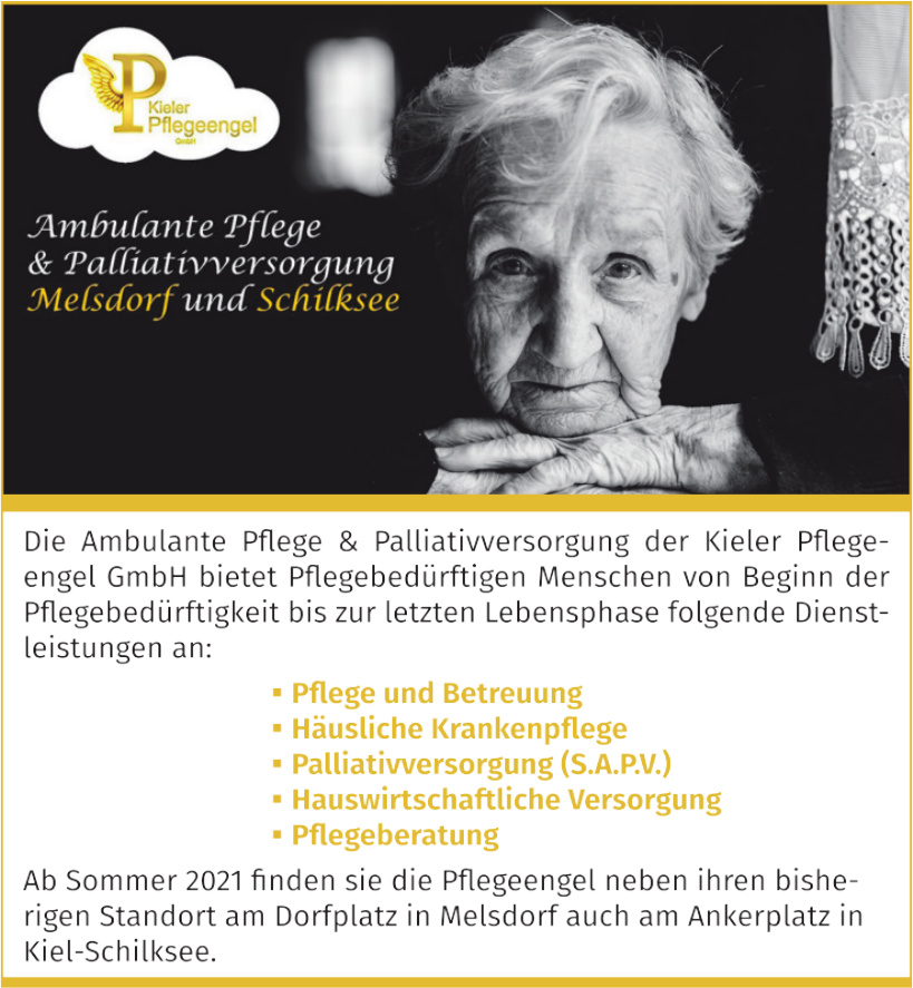 Ambulante Pflege & Palliativversorgung Melsdorf und Schilksee