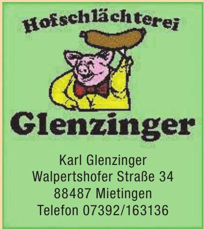 Hofschlächterei Glenzinger