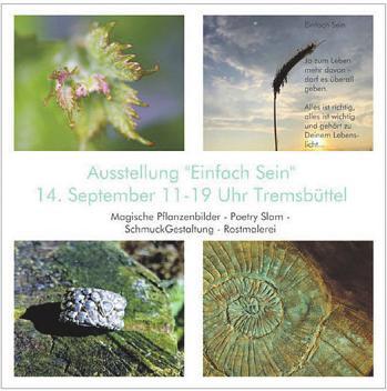 """Ausstellung """"Einfach Sein"""" Image 1"""