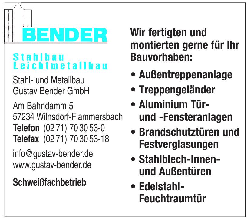 Stahl- und Metallbau Gustav Bender GmbH