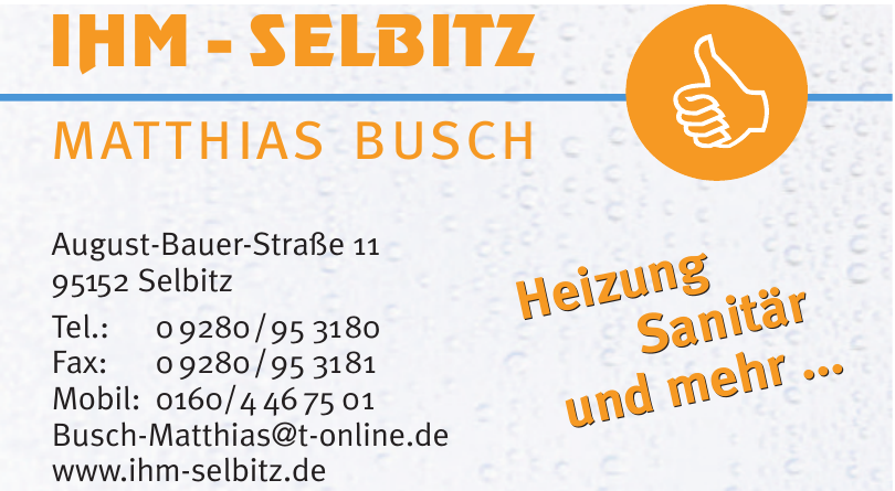 IHM-Selbitz