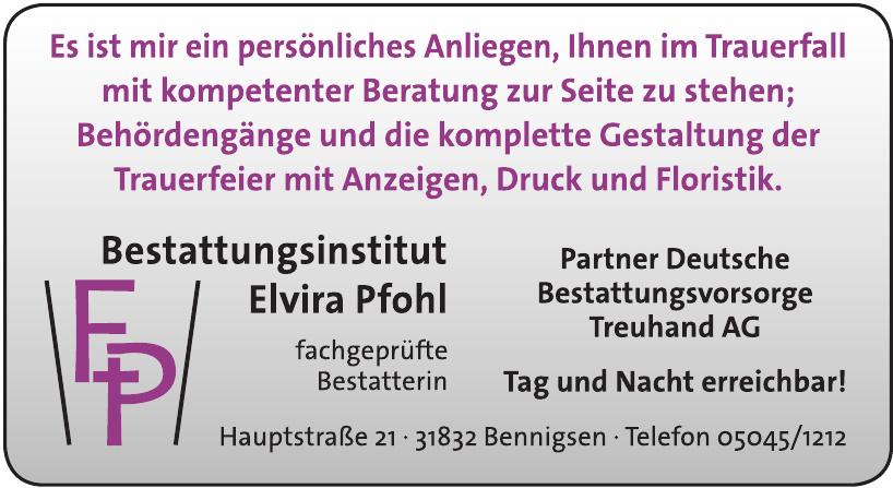 FP Bestattungsinstitut Elvira Pfohl - Partner Deutsche Bestattungsvorsorge Treuhand AG