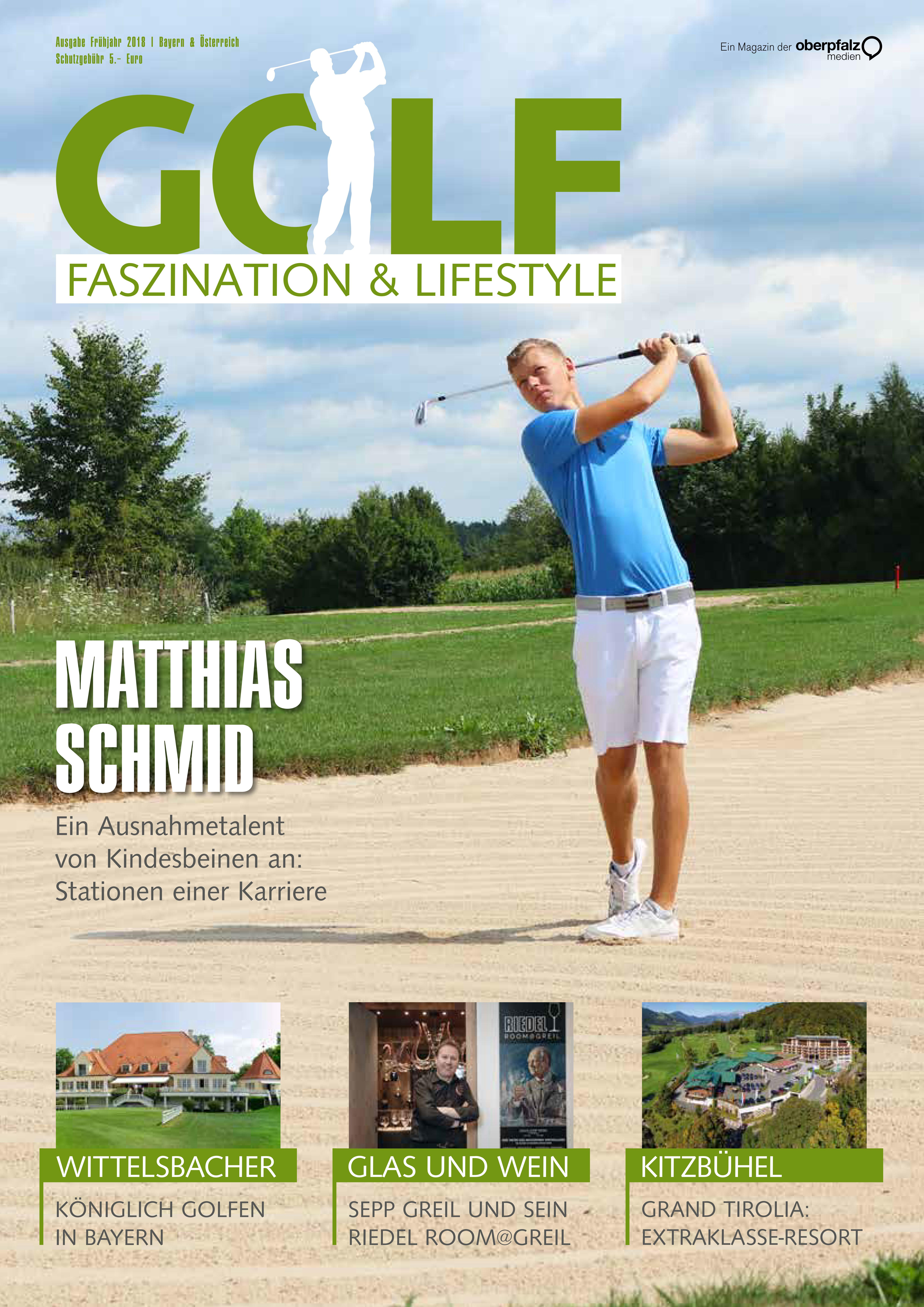 Golf Faszination & Lifestyle - Frühjahr 2018