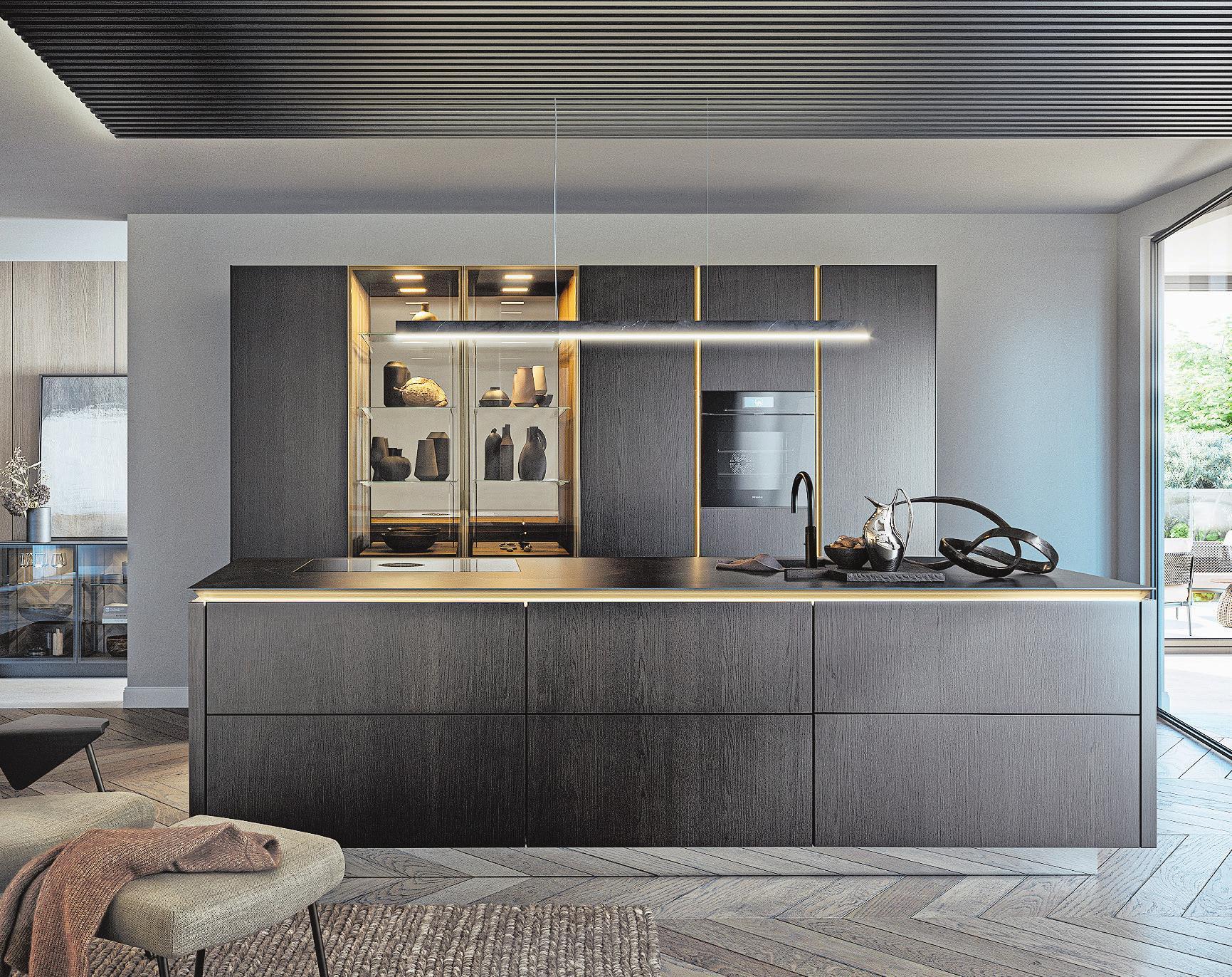Die Wahl der Farben bestimmt, ob ein Raum als einladend, elegant oder gemütlich empfunden wird. Bild: Siematic