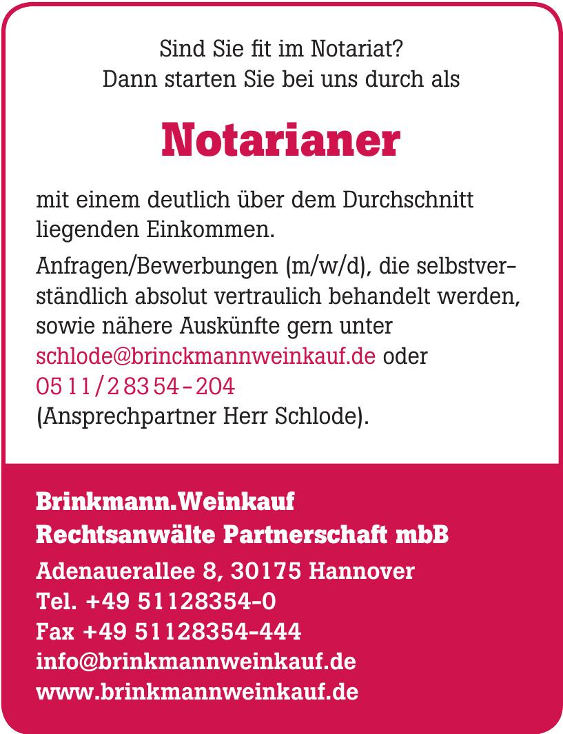 Brinkmann.Weinkauf Rechtsanwälte Partnerschaft mbB