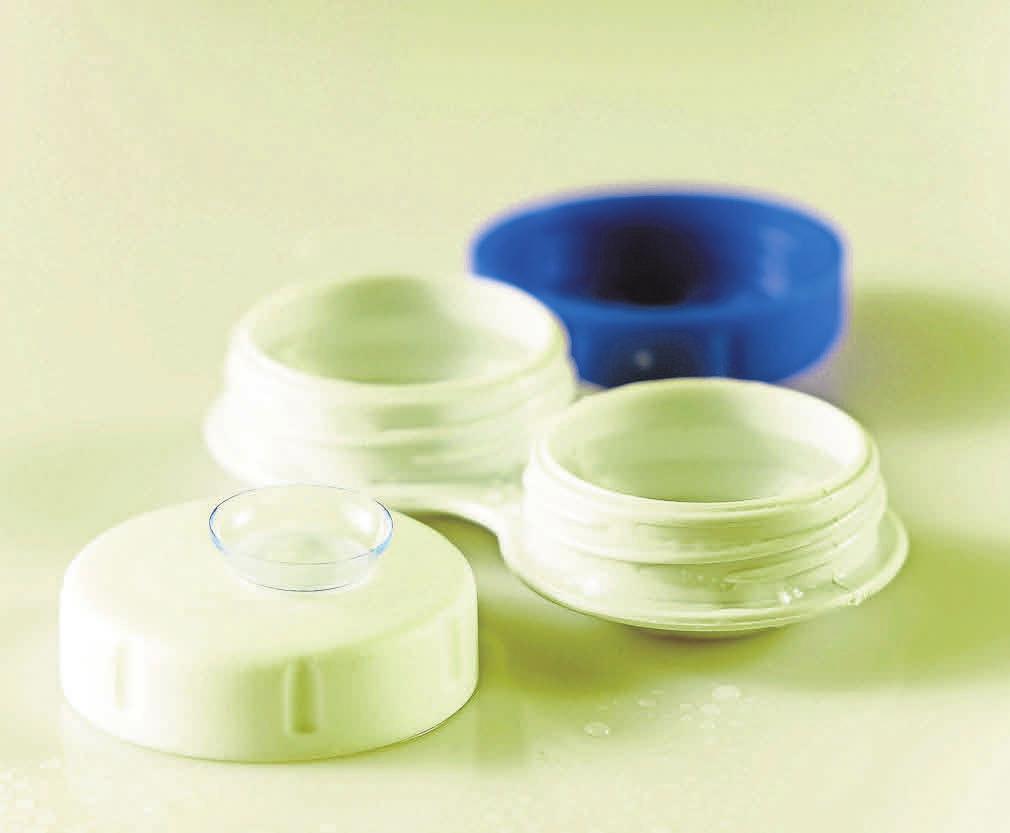 Wer auf keinen Fall eine Brille tragen möchte, kann Kontaktlinsen nutzen. Foto: Pixabay