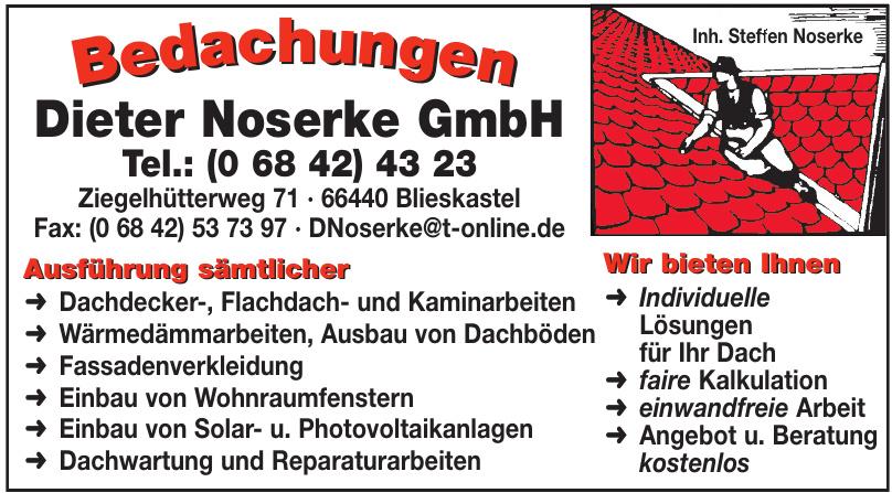 Bedachungen Dieter Noserke GmbH