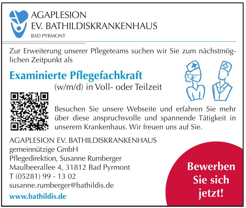 Agaplesion Ev. Bathildiskrankenhaus gemeinnützige GmbH