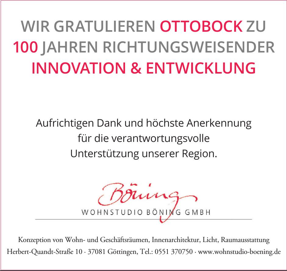 Wohnenstudio Böning GmbH