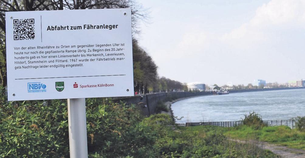 Die Rampe am Niehler Damm ist die Ablegestelle der früheren Rheinfähre. Sie soll Start und Ziel der neuen Verbindung werden. Bild: Hoeck