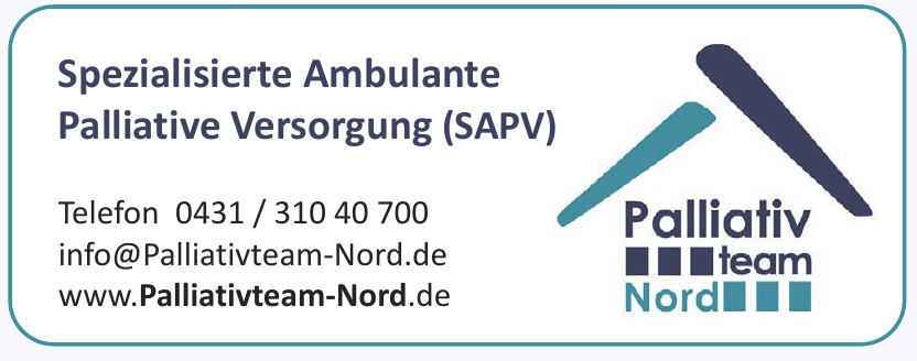Spezialisierte Ambulante Palliative Versorgung (SAPV)