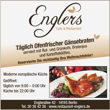 Englers Cafe & Restaurant