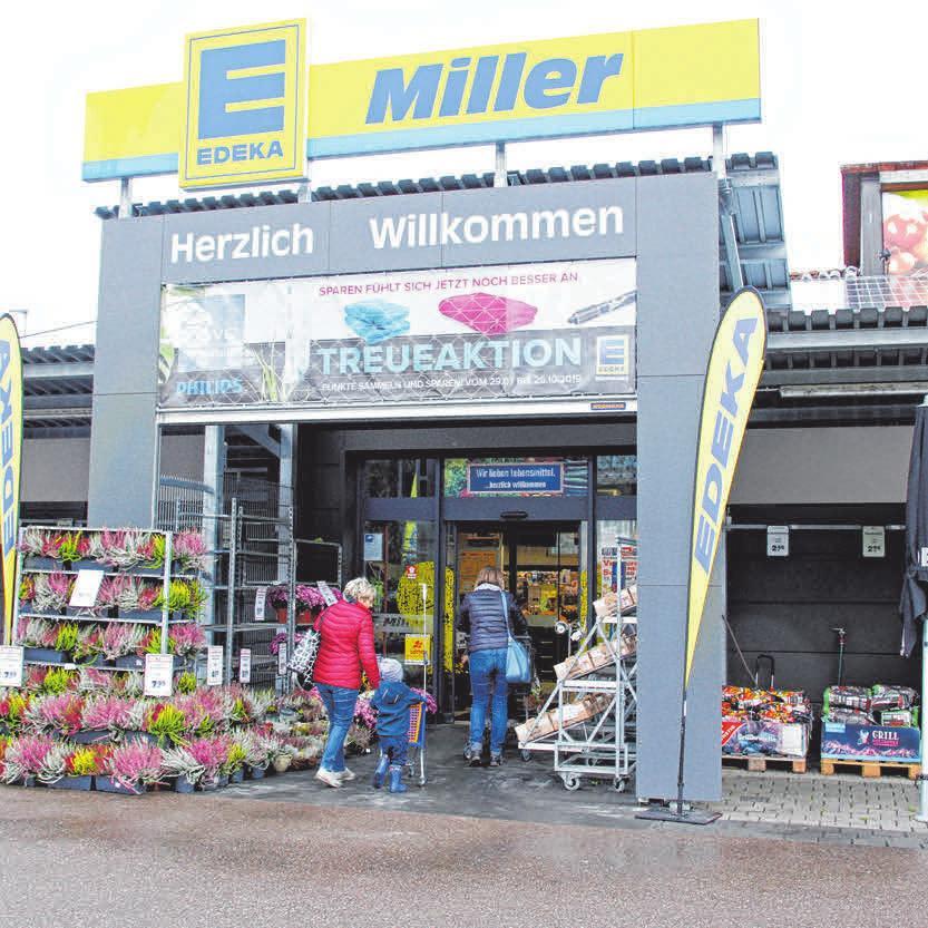 Edeka Miller veranstaltet zur Kirchweih wieder seinen großen Sonderpostenverkauf.