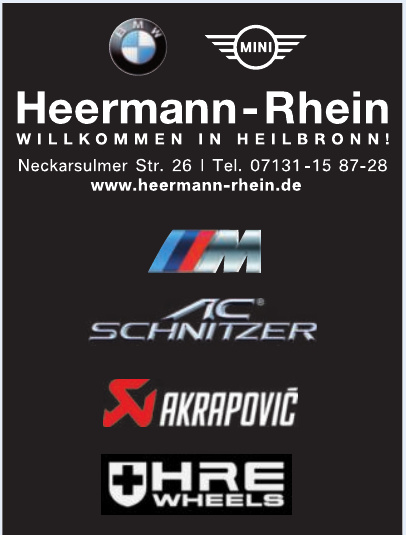 Heermann - Rhein