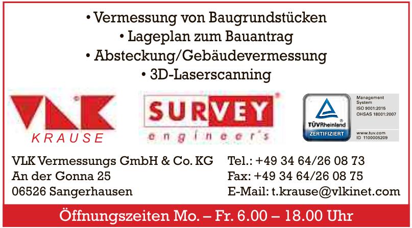 VLK Vermessung GmbH & Co. KG