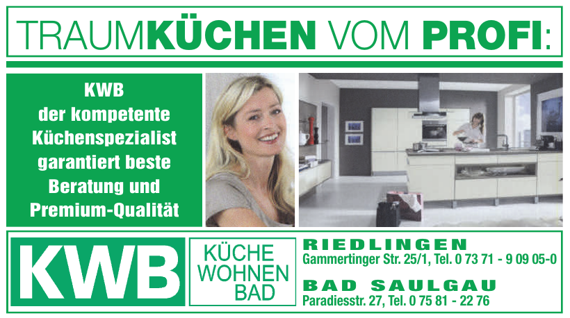KWB - Küchen Wohnen Bad