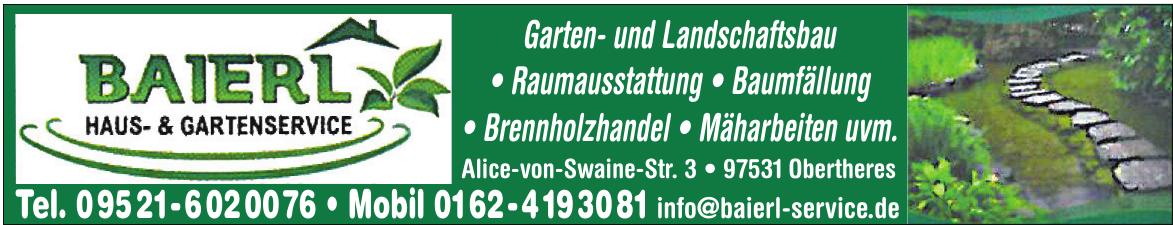 Baierl Haus- & Gartenservice