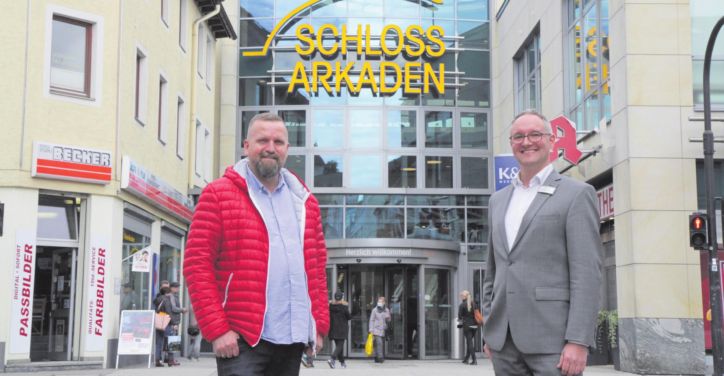 Ziehen an einem Strang: Alexander Reinhard (links) und Michael Sünderhauf. Foto: Natascha Schröm