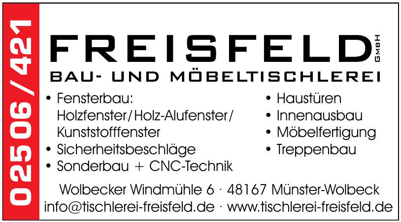 Freisfeld GmbH Bau- und Möbeltischlerei
