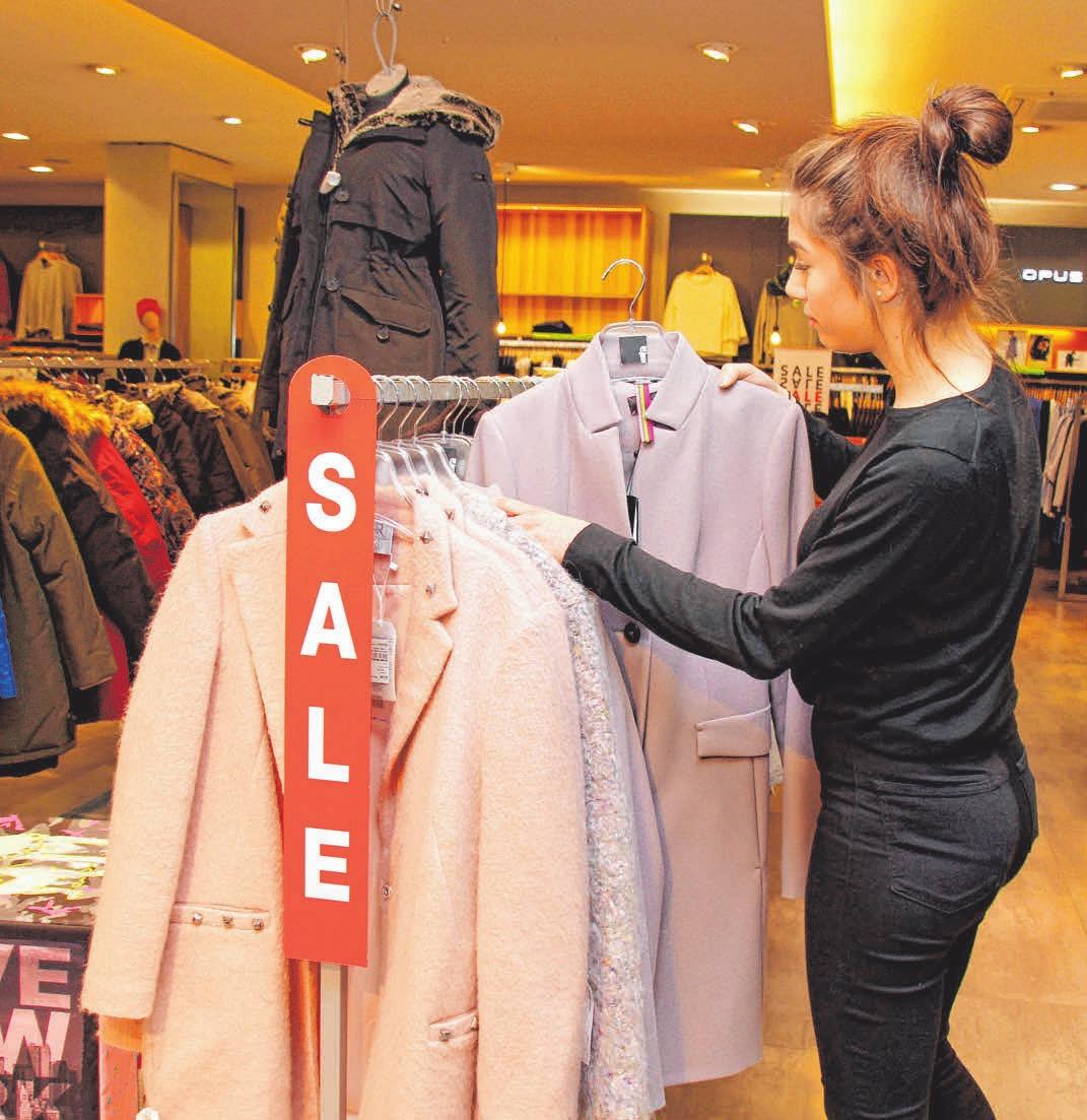 Auch Mode Funk muss Platz im Lager schaffen und bietet daher bis zu 50 Prozent Nachlass auf Winterkollektionen.