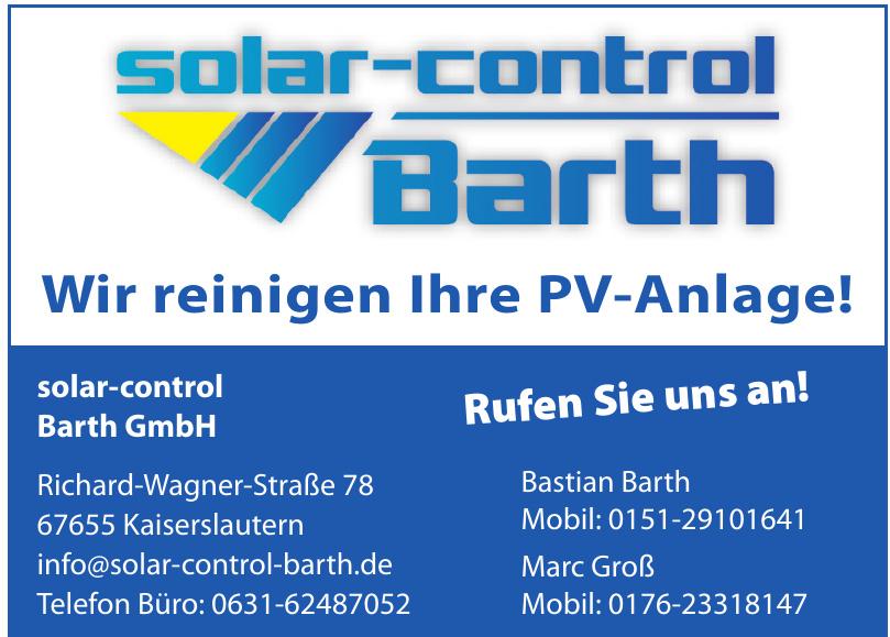 solar-control Barth GmbH
