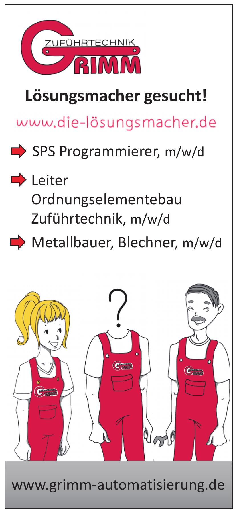 Grimm Zuführtechnik GmbH & Co.KG