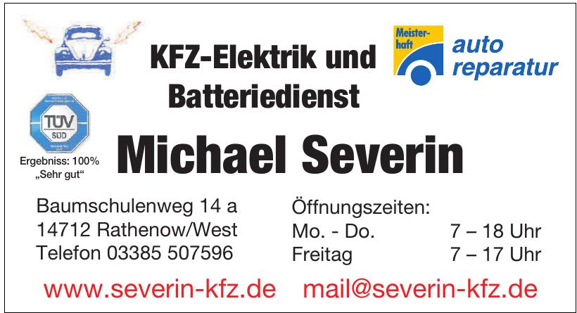 KFZ-Elektrik & Batteriedienst Michael Severin