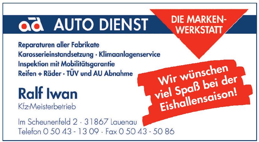 Ralf Iwan - KFZ Meisterbetrieb