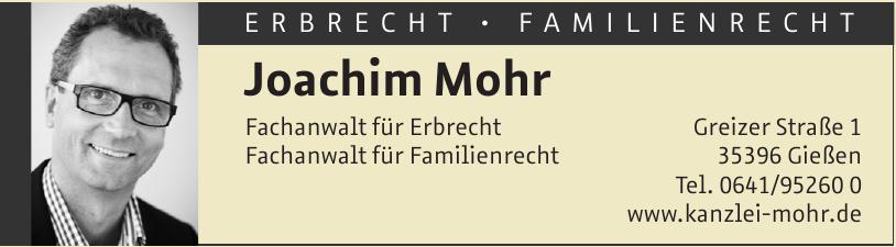 Joachim Mohr