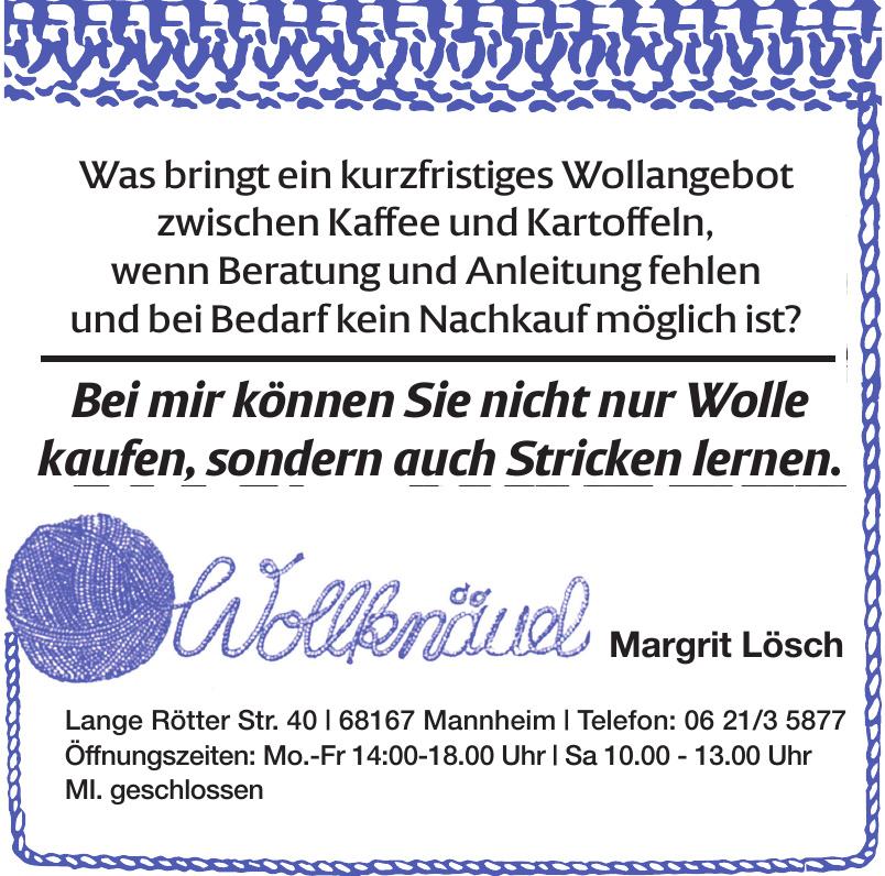 Wollknöuel Margit Lösch
