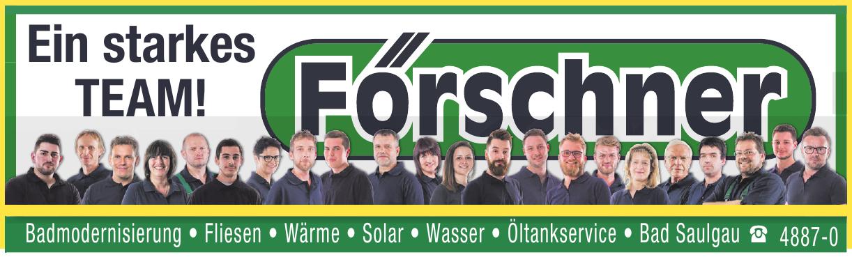 Förschner GmbH