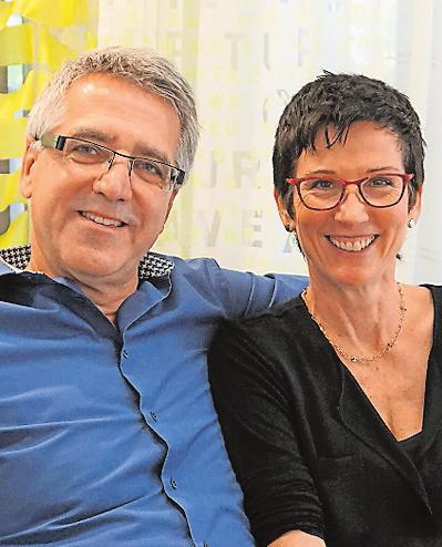 Bast Raum und Wohnen: Heribert und Sabine Bast. FOTO: BAST