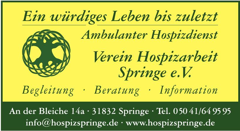 Verein Hospizarbeit Springe e.V.