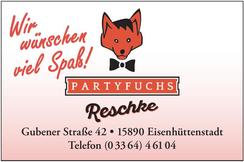 Partyfuchs Reschke