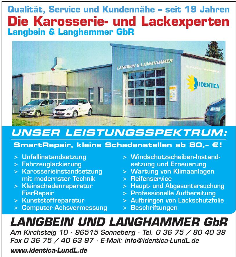 Langbeim und Langhammer GbR