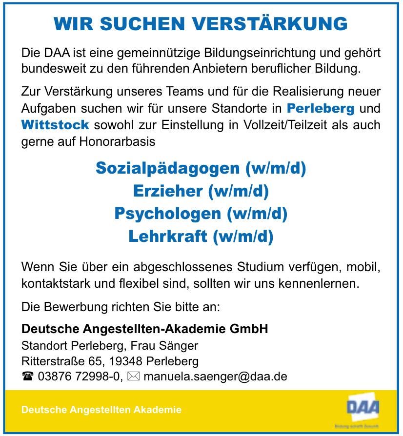 DAA - Deutsche Angellten-Akademie GmbH