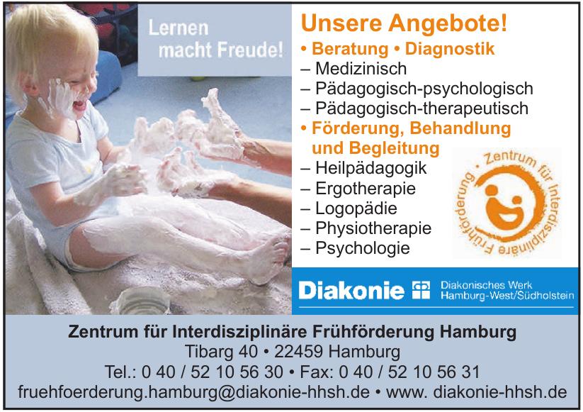Diakonie - Zentrum für Interdisziplinäre Frühförderung Hamburg