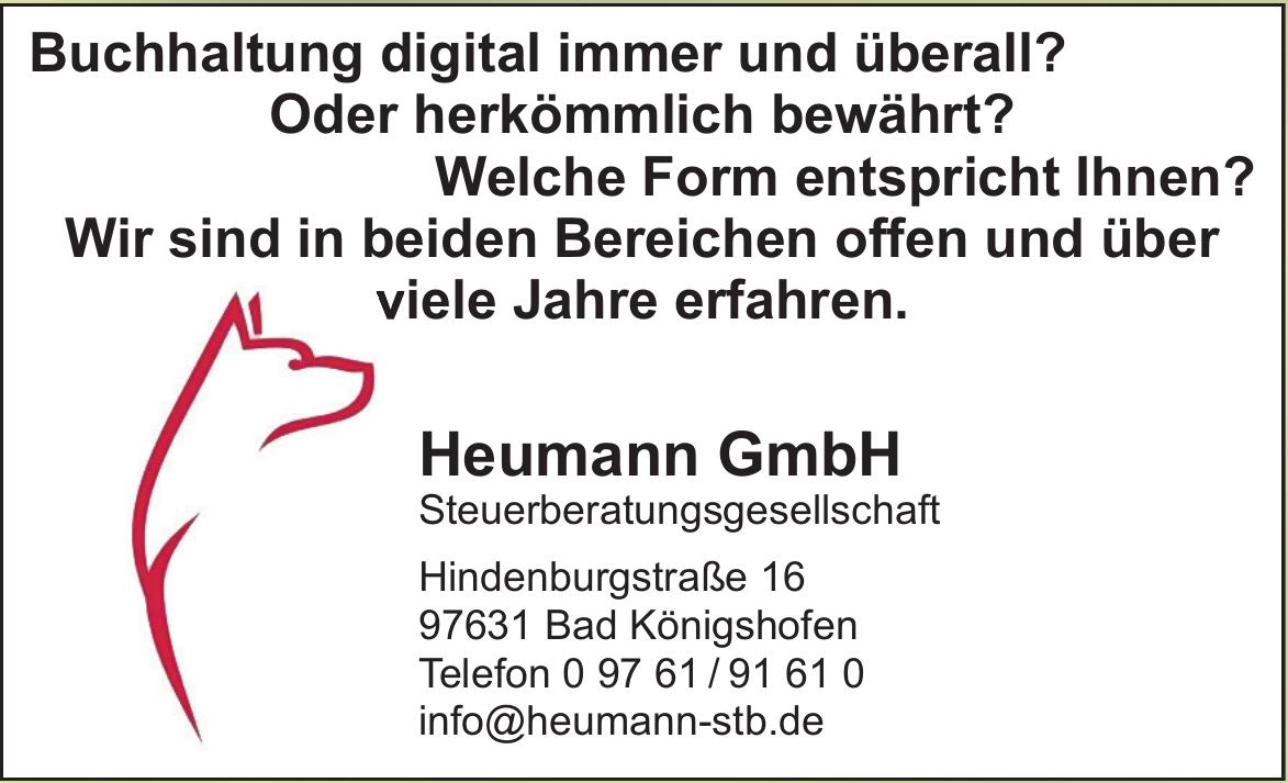 Heumann GmbH Steuerberatungsgesellschaft