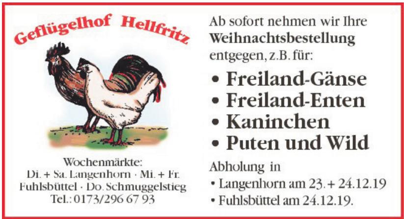 Geflügelhof Hellfritz
