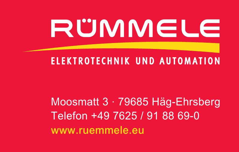 Rümmele Elektrotechnik und Automation