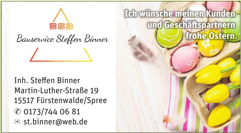 Bauservice Steffen Binner