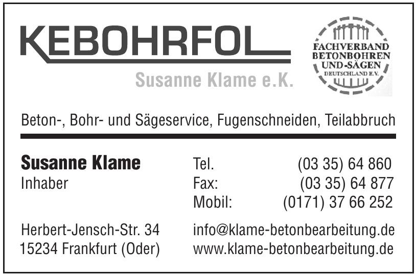 Ralf Klame e.K