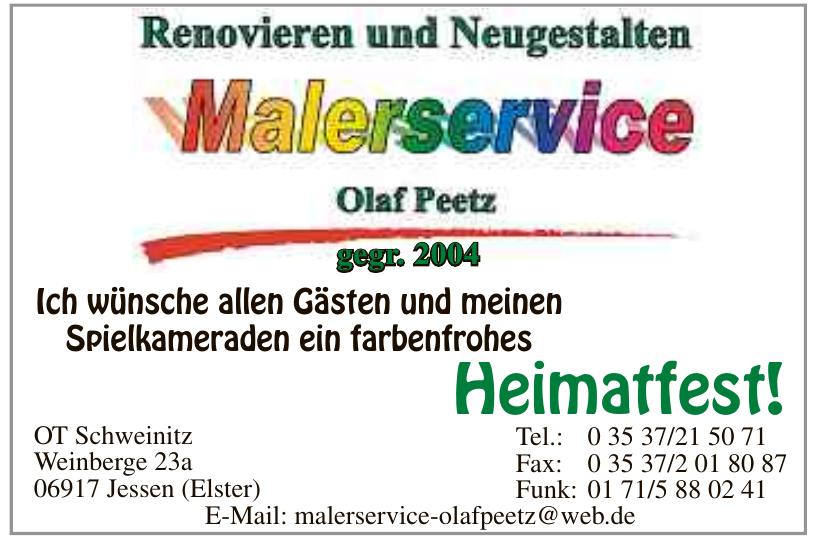 Malerservice Olaf Peetz