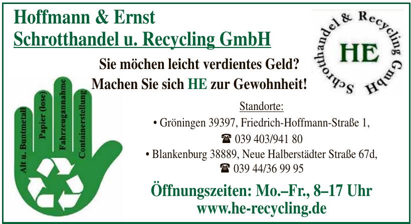 Hoffmann & Enrst Schrotthandel u. Recycling GmbH