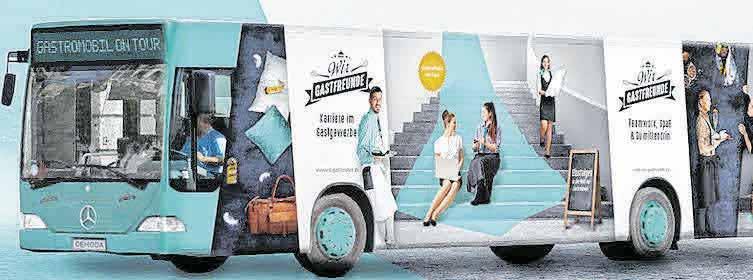 Das Gastromobil wird zum Ausbildungstag nach Munderkingen kommen.